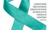 Lazos verdes para reclamar una mejor sanidad