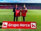 Grupo Herce renueva su colaboración con el Numancia