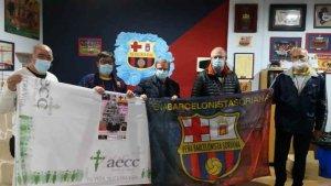 Peña Barcelonista Soriana: solidaridad por partida doble