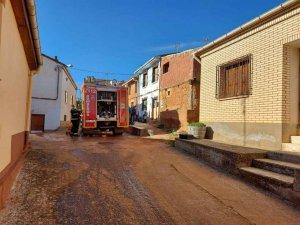 Incendio de una chimenea en Zayuelas