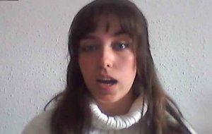 Irene Martín, mejor trabajo fin de grado del Campus