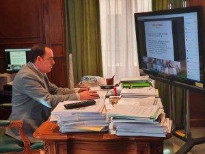 Serrano, vicepresidente del Consorcio del Camino del Cid