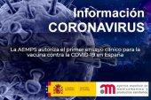 Autorizado primer ensayo clínico fase III para vacuna contra la COVID-19