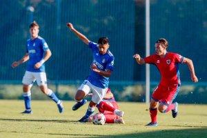 Empate sin goles frente al filial del Oviedo