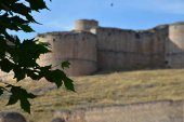 El castillo de Berlanga, desde el cielo
