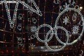 Pruebas para el encendido de la esfera navideña