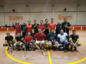 Buen partido en Pamplona de Laguna Negra HC