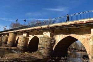 Otoño en el puente de Garray - fotos