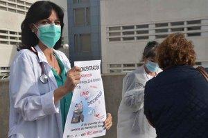 Nueva concentración del personal sanitario - fotos