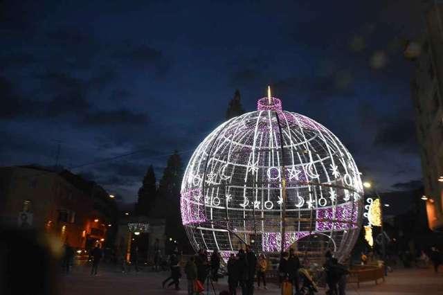 Soria enciende la iluminación navideña - fotos