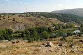 Recreación de cementerio medieval en Monte de las Ánimas