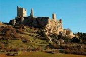 El castillo de Calatañazor, desde el cielo