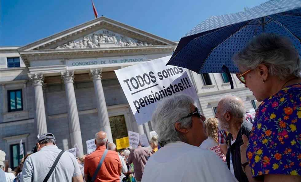 Los pensionistas se movilizan contra el pacto de Toledo