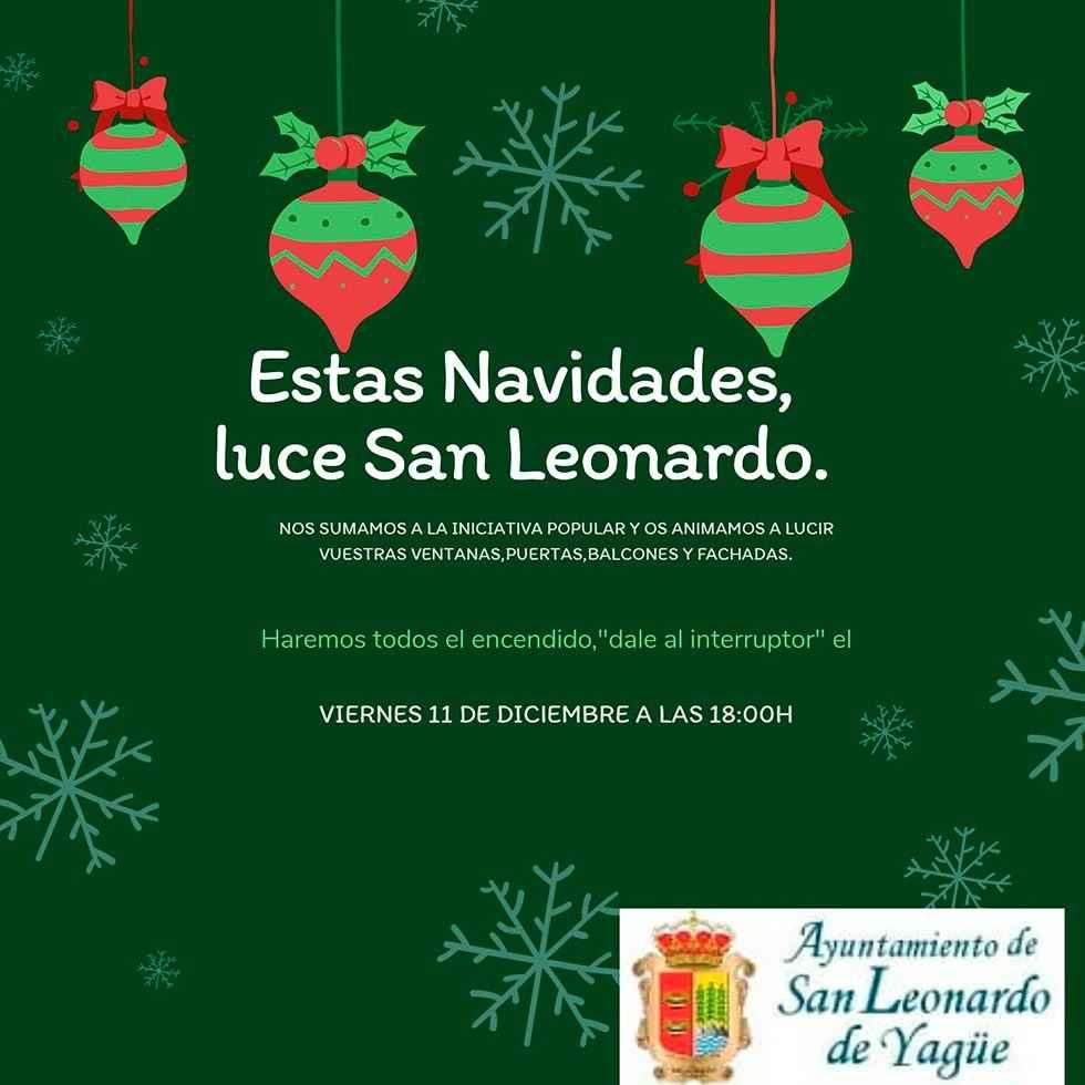 San Leonardo de Yagüe anima a felicitar las navidades