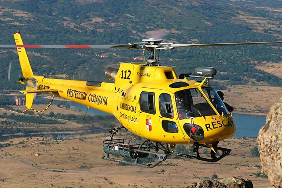 Rescatados dos montañeros enriscados en cañón