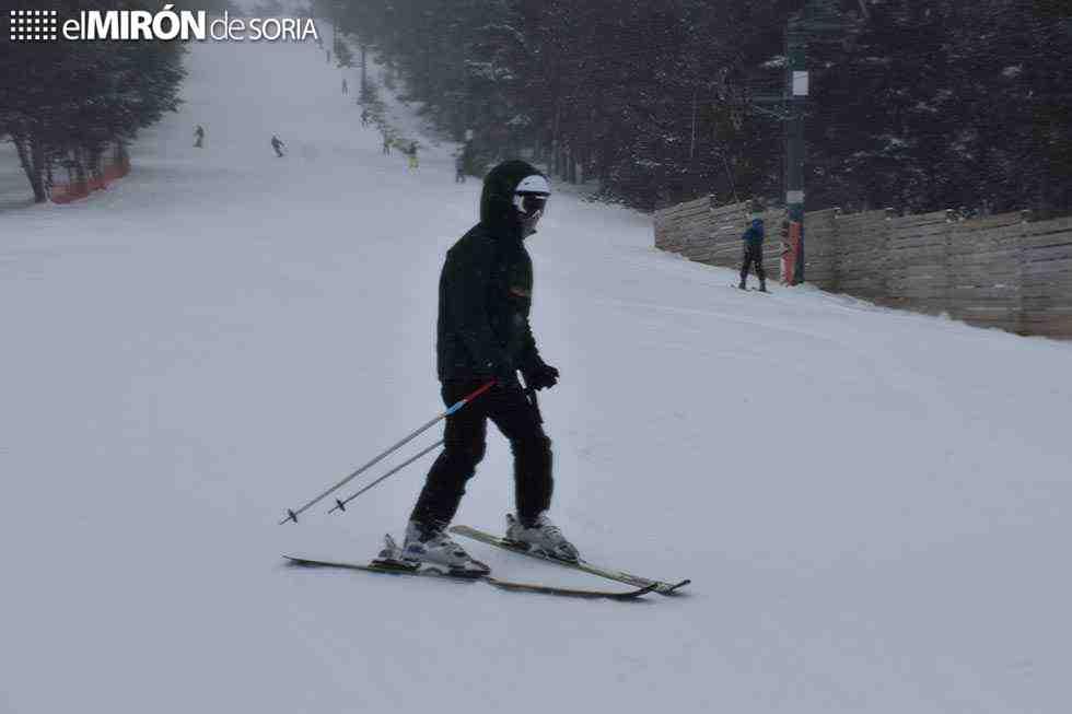 Santa Inés estrena la temporada de nieve