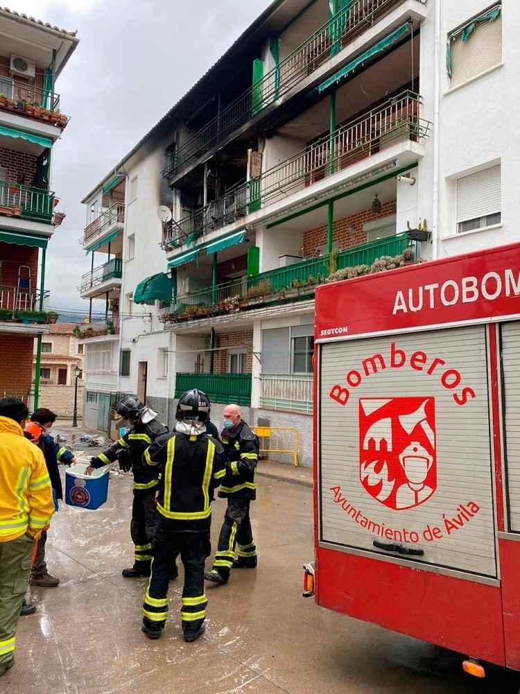 Atendidas cinco personas en explosión de gas