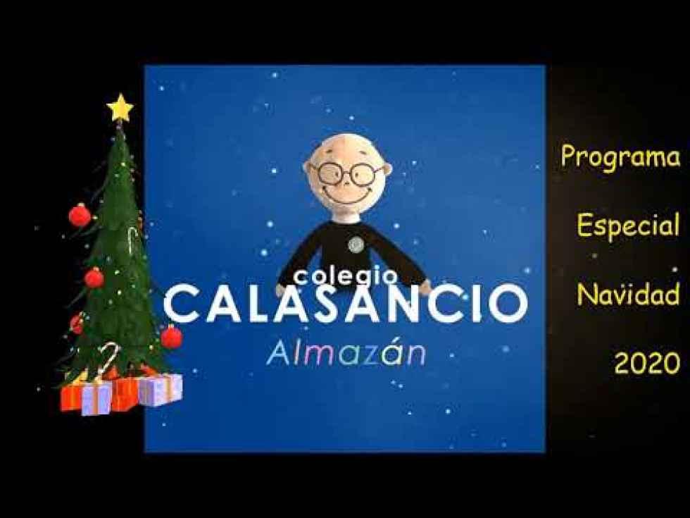 Un original festival de Navidad en el colegio Calasancio