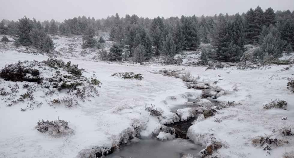 El frío invernal llega para quedarse