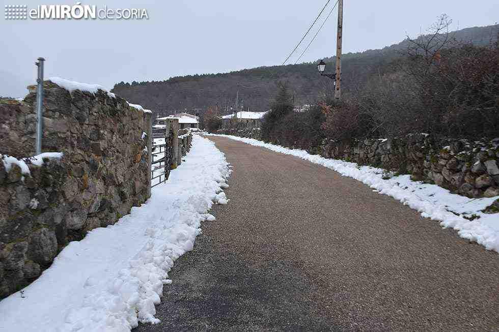 Nieve y heladas para acabar el año