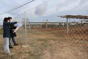 Almazán ultima instalación solar fotovoltaica