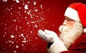 Papa Noel recibe a los niños