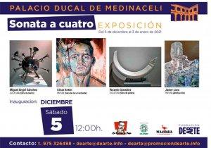Cuatro artistas sorianos toman el Palacio Ducal