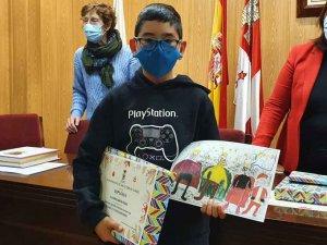 Ganadores del Concurso de Postales navideñas en San Esteban