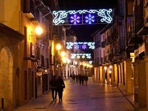 Programa navideño en El Burgo