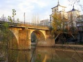 Rescatada una persona del río Duero