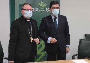 Caja Rural renueva convenio con Obispado