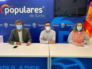 El PP asegura que PSOE castiga a Soria con PGE