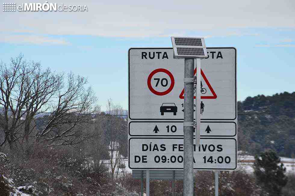 Incidencias puntuales en carreteras por nieve