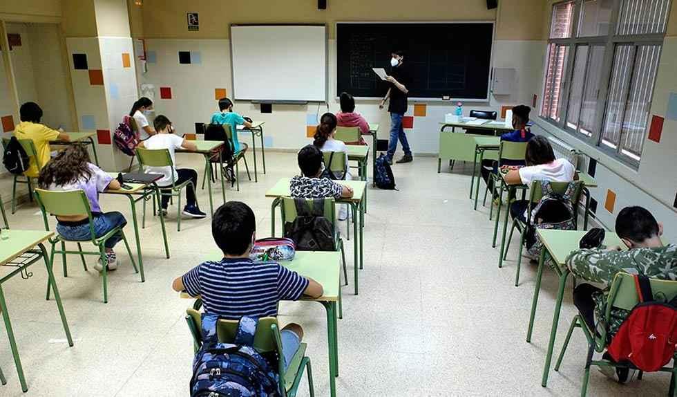 CSIF pide suspender clases por temporal