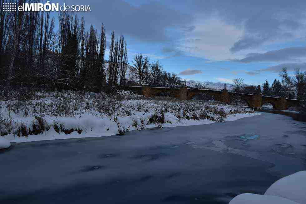 Soria, en el top 10 de ciudades más frias