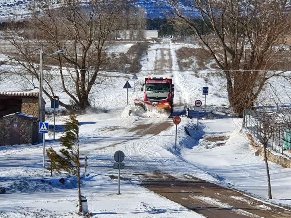 Numerosas incidencias en carreteras provinciales
