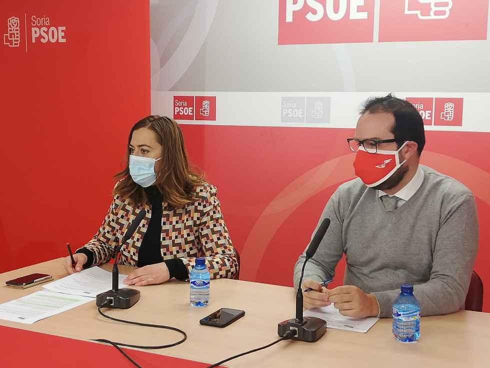 El PSOE pide 7 millones en enmiendas