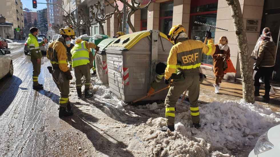 La BRIF termina con retirada de hielo y nieve