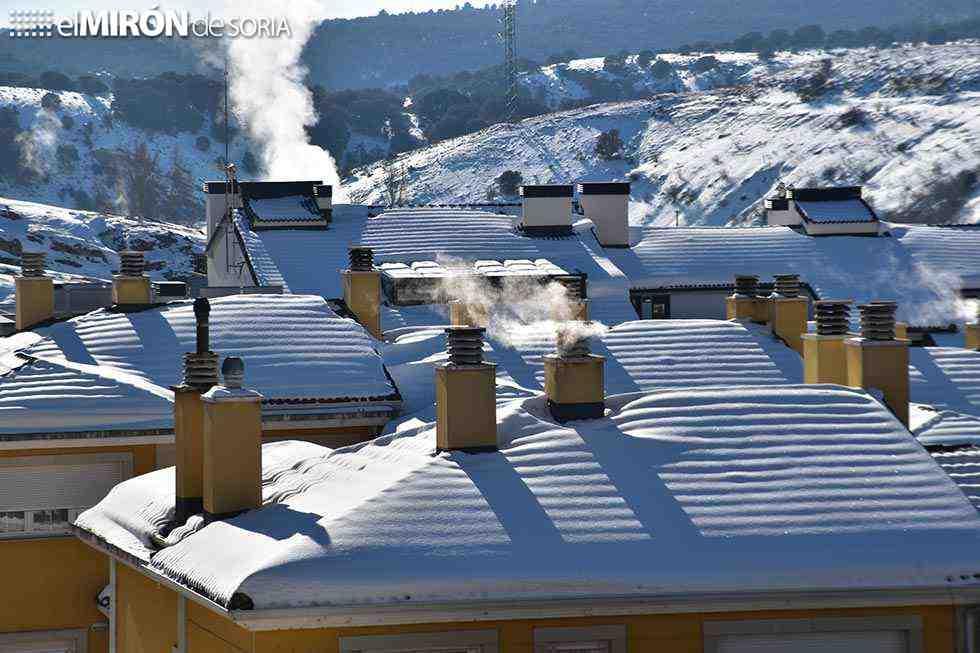 Soria, con más frío que Noruega
