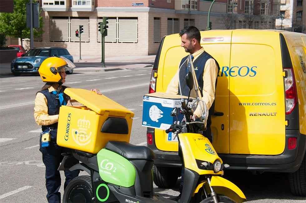 Correos bate récords en envíos de paquetería