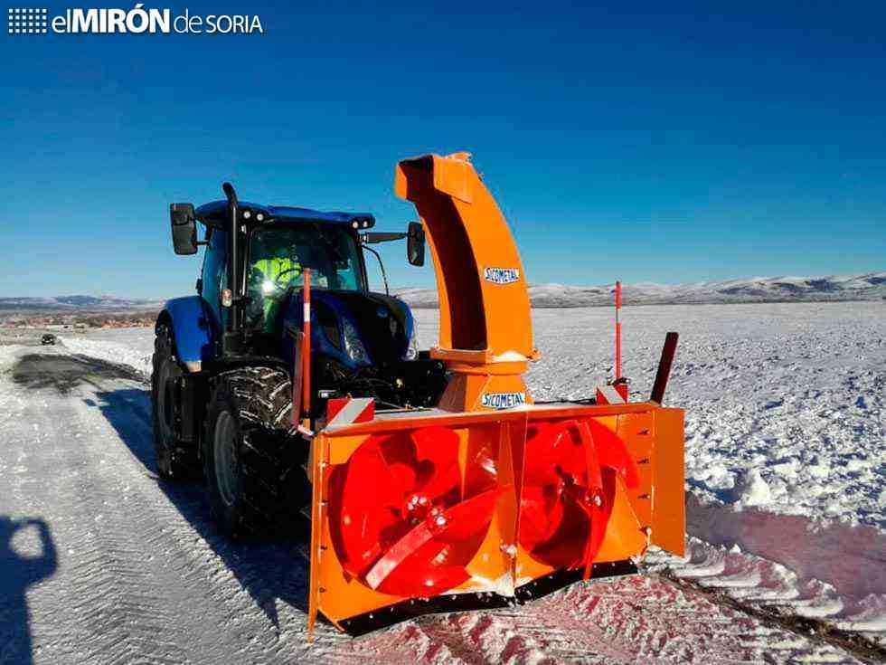 1,5 millones de sal en carreteras en temporal