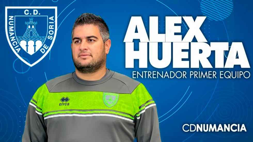 Alex Huerta toma las riendas del Numancia