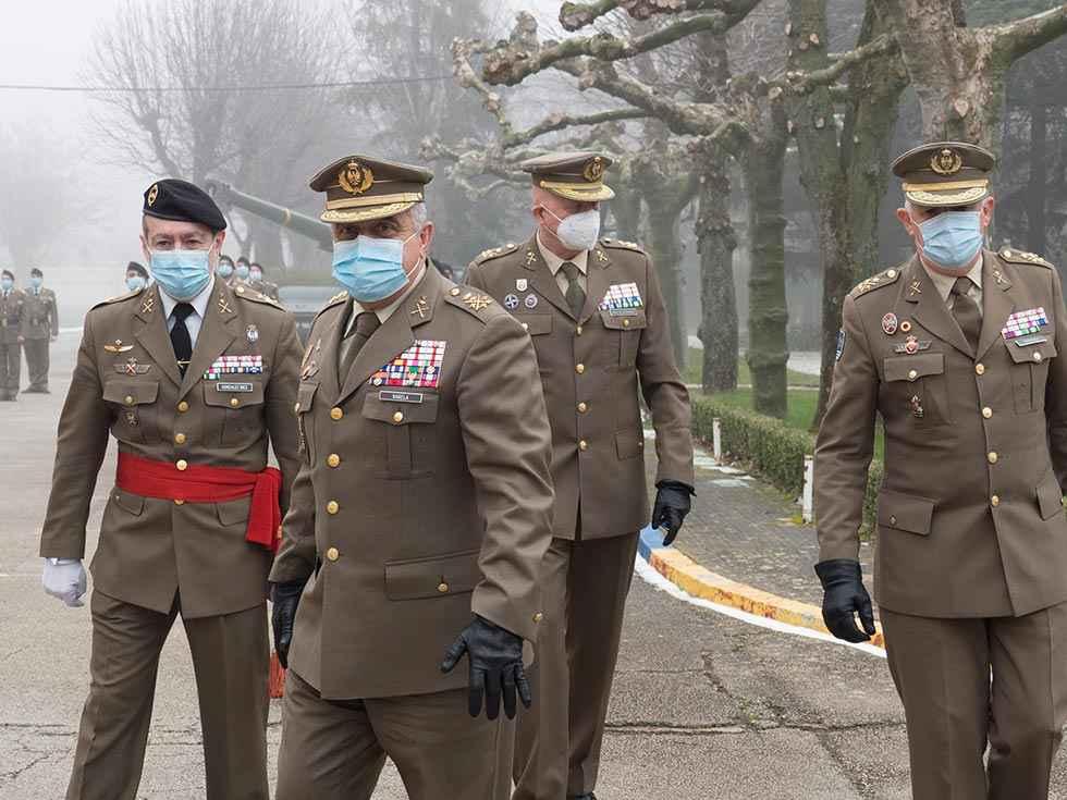 Toma de posesión del jefe de la División San Marcial
