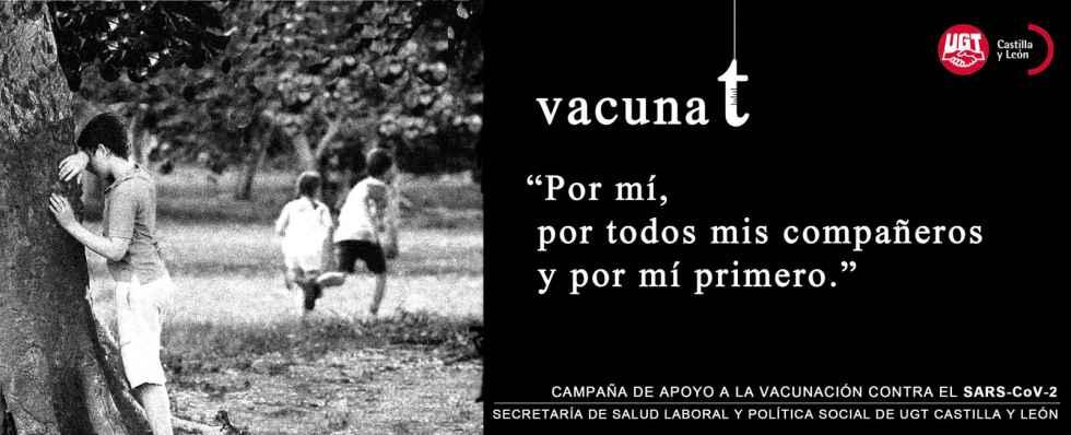 UGT conciencia sobre importancia de vacunarse