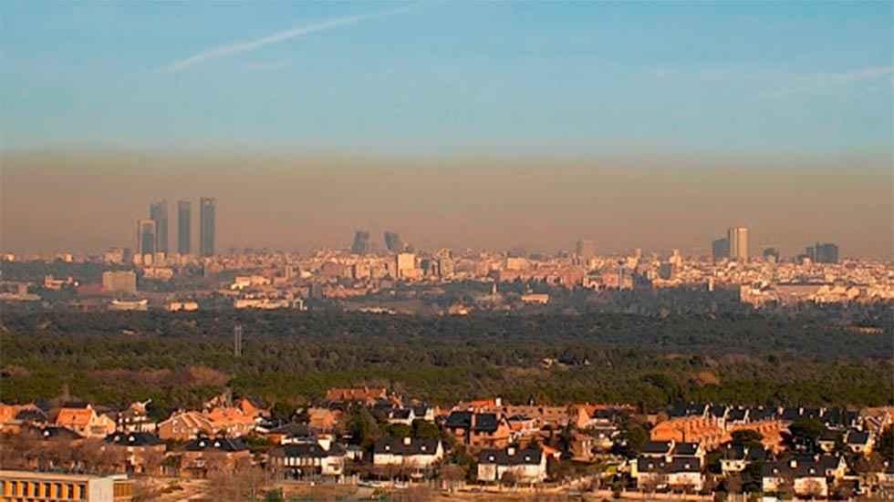 Madrid, a la cabeza en muertes por contaminación