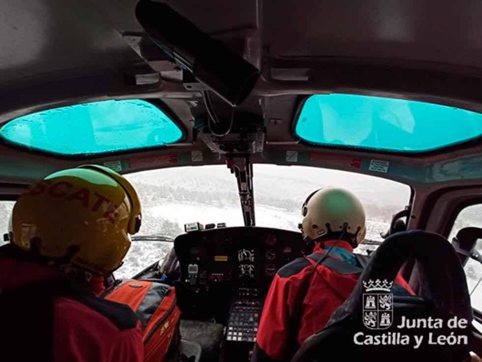 Rescatados cinco montañeros en el Pico Mencilla