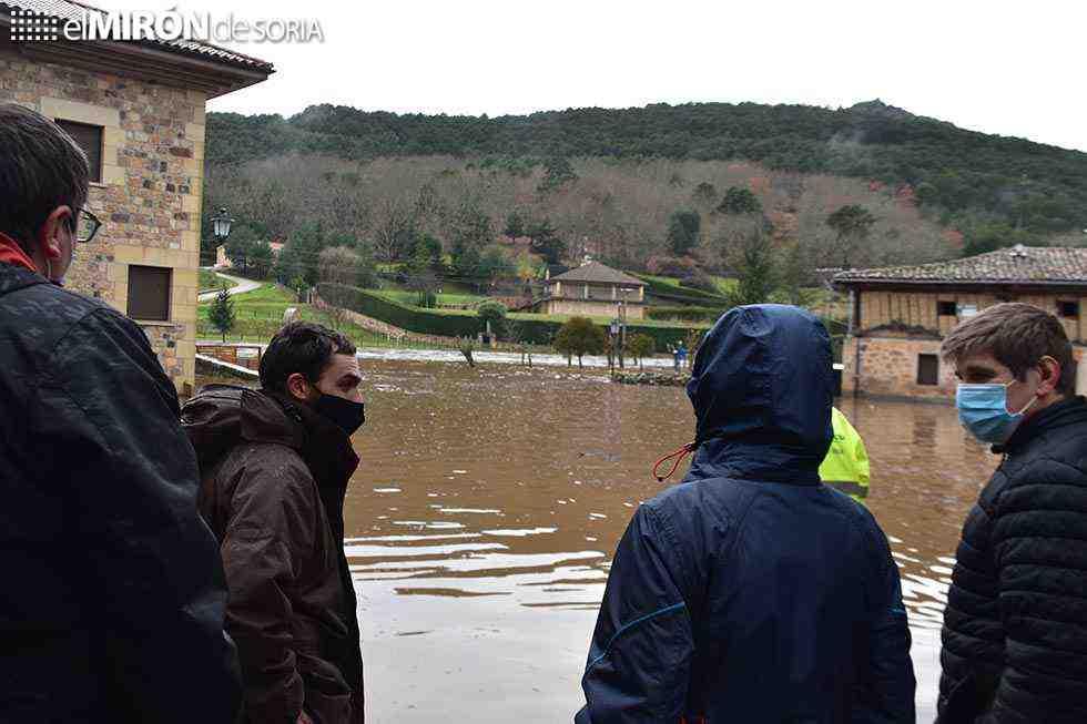 Salduero urge una solución a inundaciones