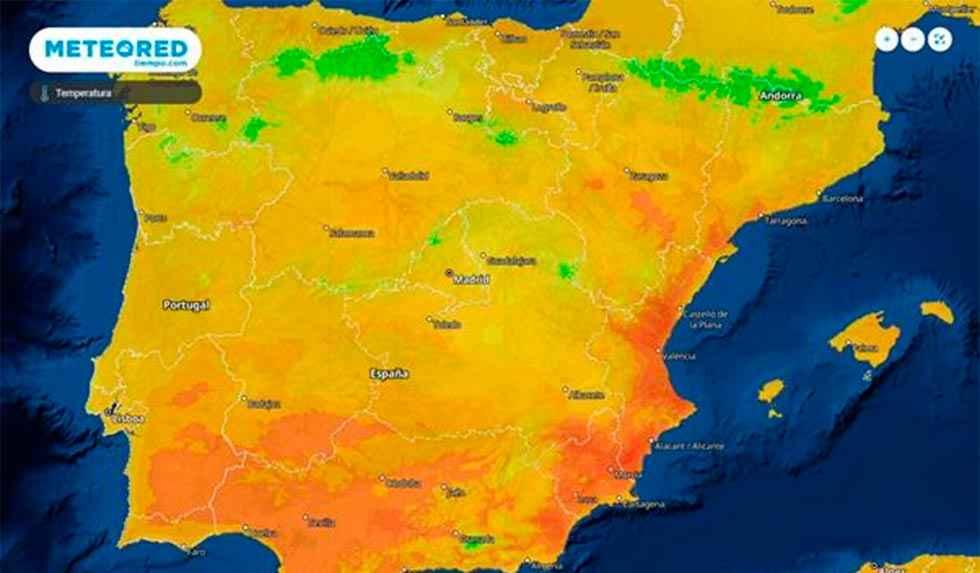 Enero se despide con temperaturas muy elevadas
