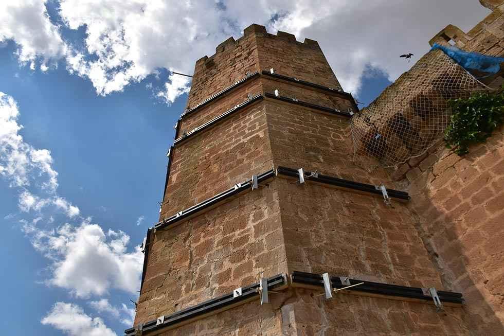 Monteagudo acondiciona su castillo para exposiciones