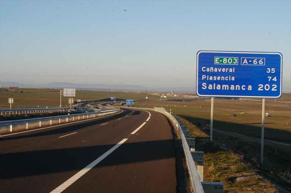 Accidente mortal en la A-66, en Salamanca